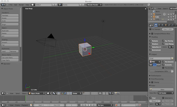 Blender Shadow Baking